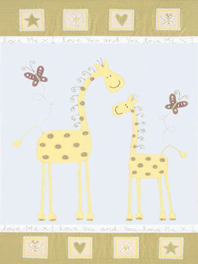 21381 Giraffe Mother & Baby
